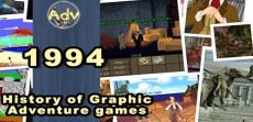 History of adventure games - 1994